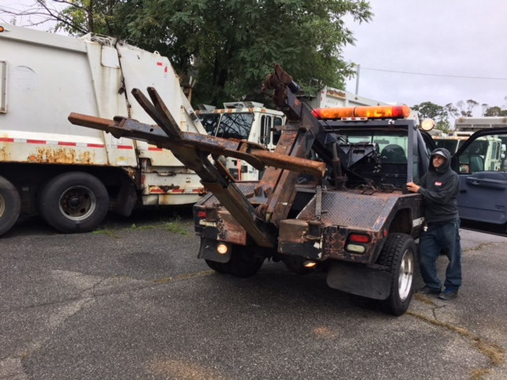 1999 Ford SUPER DUTY F-550 SELF LOADER TOW TRUCK 7.3 POWERSTROKE TURBO DIESEL    ***   LOW MILES   *** - 17537969 - 33