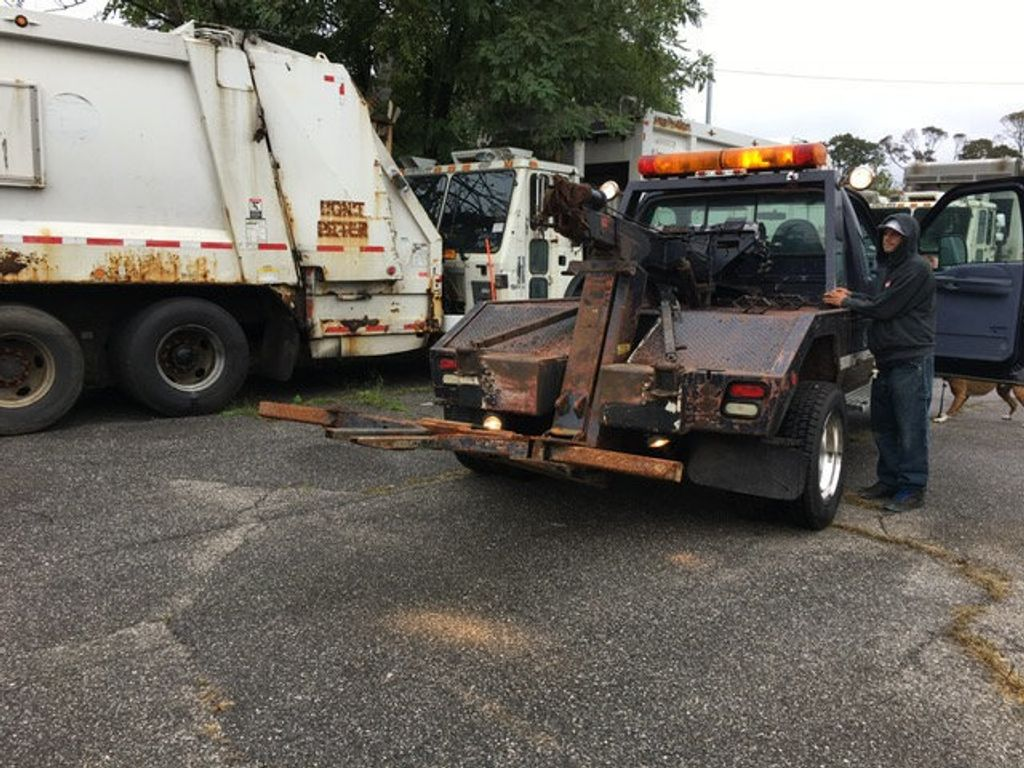 1999 Ford SUPER DUTY F-550 SELF LOADER TOW TRUCK 7.3 POWERSTROKE TURBO DIESEL    ***   LOW MILES   *** - 17537969 - 45