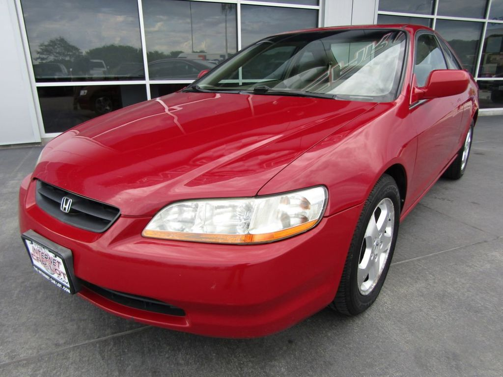 1999 Honda Accord Coupe 2dr Coupe EX V6 Automatic   17477957   2