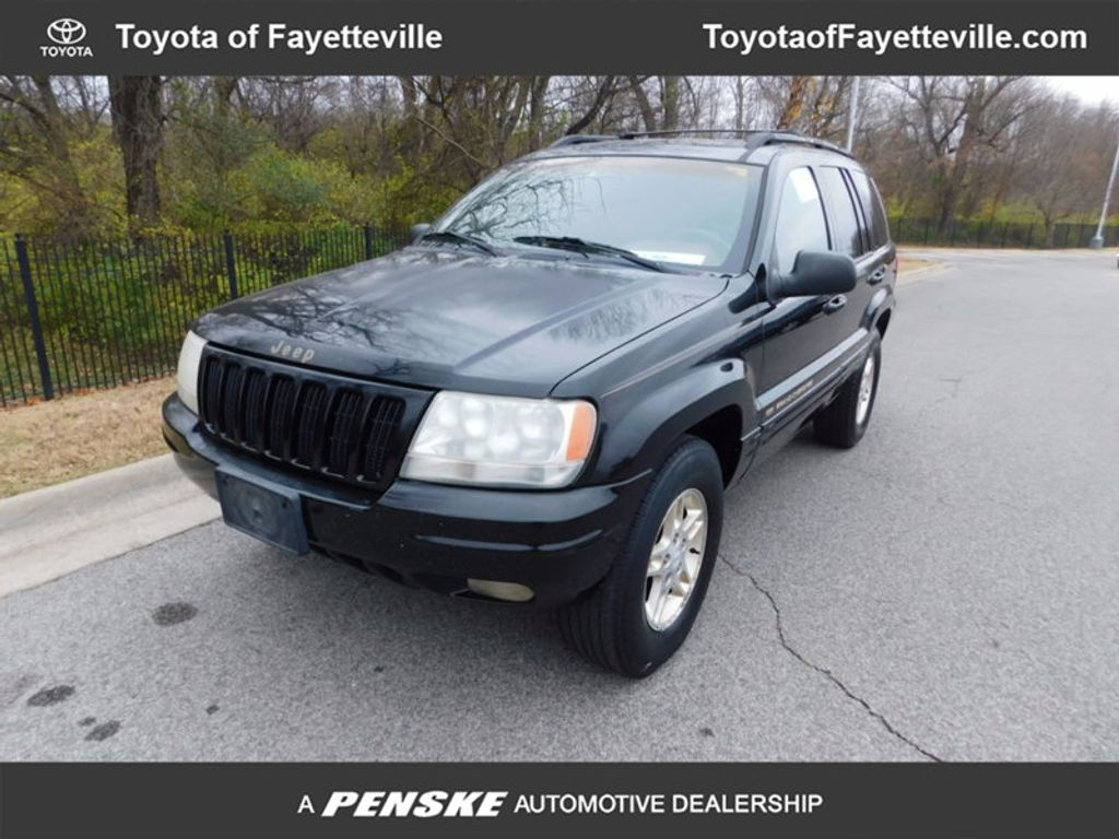 1999 used jeep grand cherokee 4dr limited at toyota of
