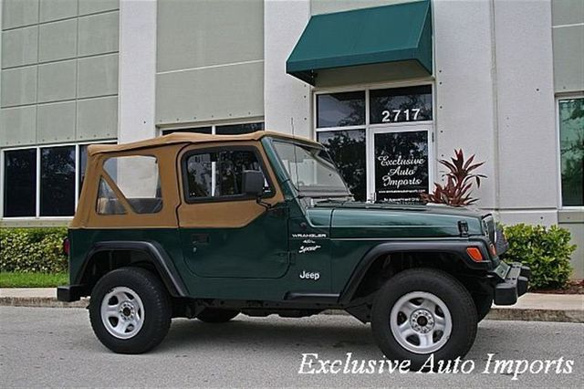 1999 Jeep Wrangler 2dr Sahara - Click to see full-size photo viewer