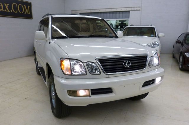 1999 Used Lexus LX 470 Luxury SUV 2 Sets Of Wheels And Tires At