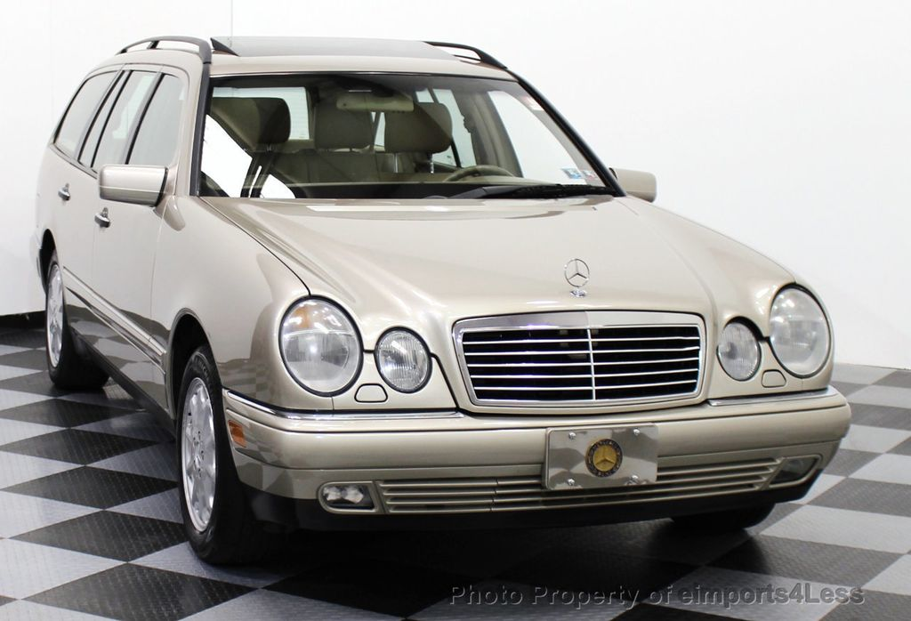 1999 used mercedes benz e class awd wagon with 3rd row for Mercedes benz 3rd row