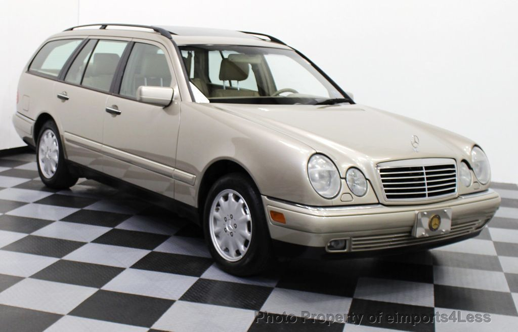 1999 Mercedes Benz E Class AWD WAGON WITH 3RD ROW SEAT