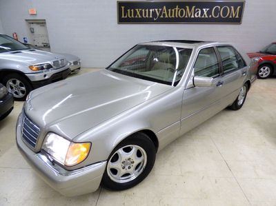 1999 Mercedes-Benz S-Class S420 4dr Sedan 4.2L