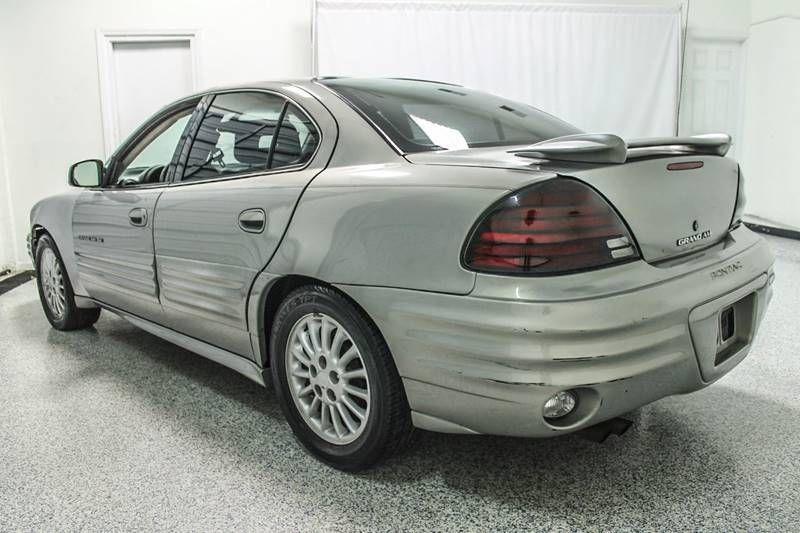 1999 used pontiac grand am 4dr sedan se1 at auto outlet serving elizabeth nj iid 15728322. Black Bedroom Furniture Sets. Home Design Ideas