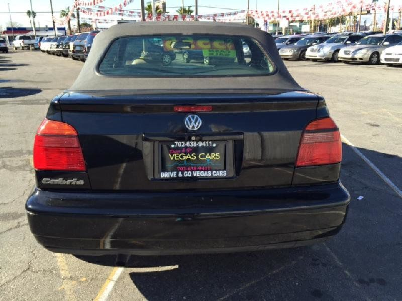 1999 Volkswagen Cabrio 2dr Convertible Manual for Sale in ...
