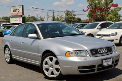 2000 Audi S4 4dr Sedan Quattro AWD 2.7L Manual