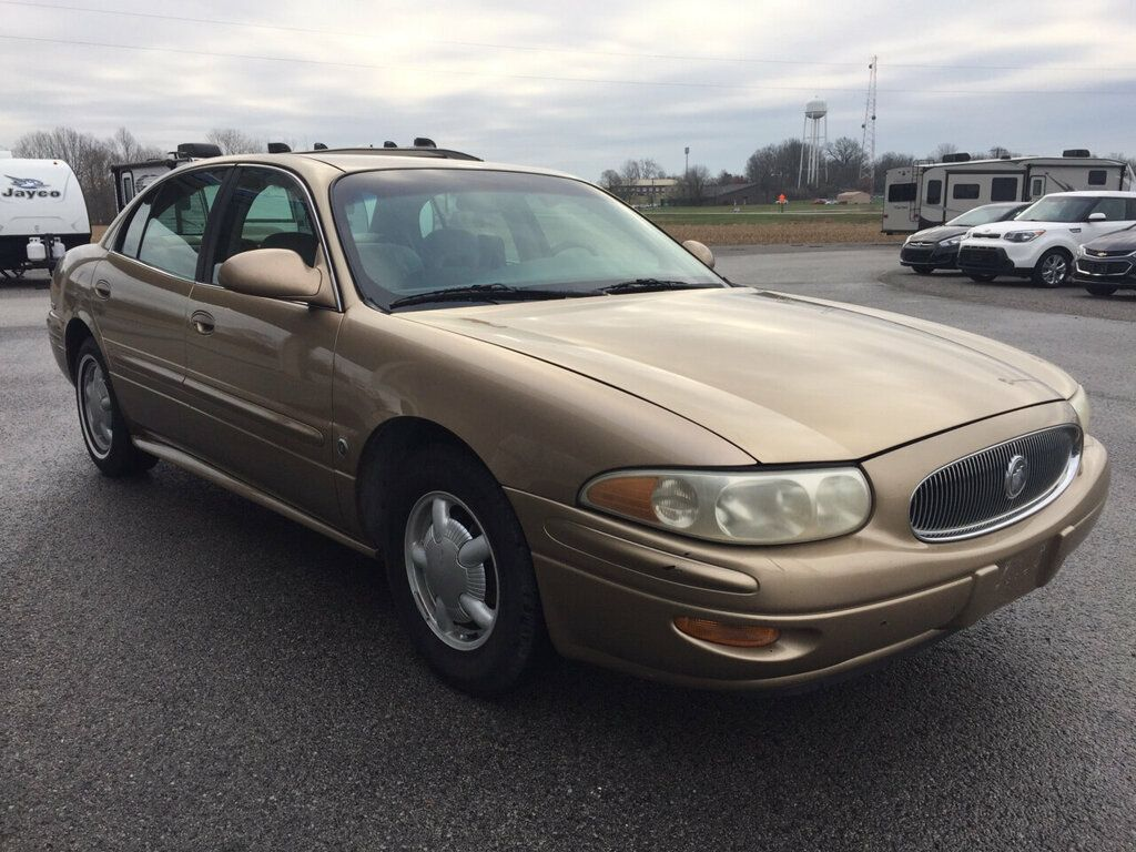 2000 Used Buick Lesabre 4dr Sedan Custom At Allen Auto Sales Serving Paducah  Ky  Iid 19937557