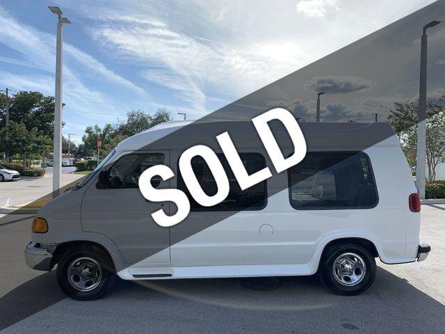 Dodge Conversion Van >> 2000 Dodge Ram Van 1500 Hi Top Conversion Van Van For Sale Pompano Beach Fl 9 999 Motorcar Com