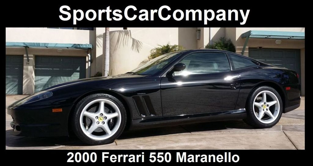 2000 Ferrari 550 Maranello Base Trim - 14732068 - 0