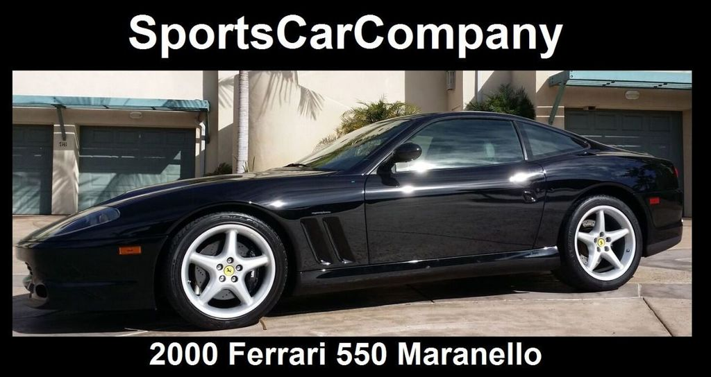 2000 Ferrari 550 Maranello Base Trim - 14732068 - 2