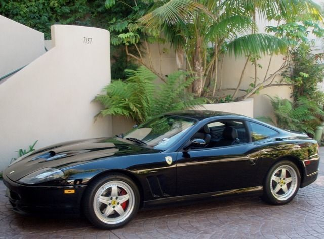 2000 Used Ferrari 550 Maranello At Sports Car Company Inc Serving