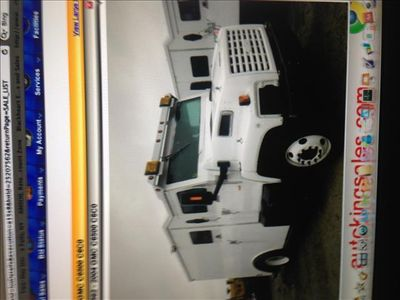 2000 GMC C6500 Armored Truck - Click to see full-size photo viewer