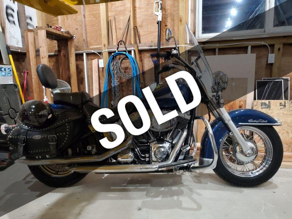 Harley Davidson Used >> 2000 Used Harley Davidson Flstc Heritage Softail At Webe Autos Serving Long Island Ny Iid 19596462
