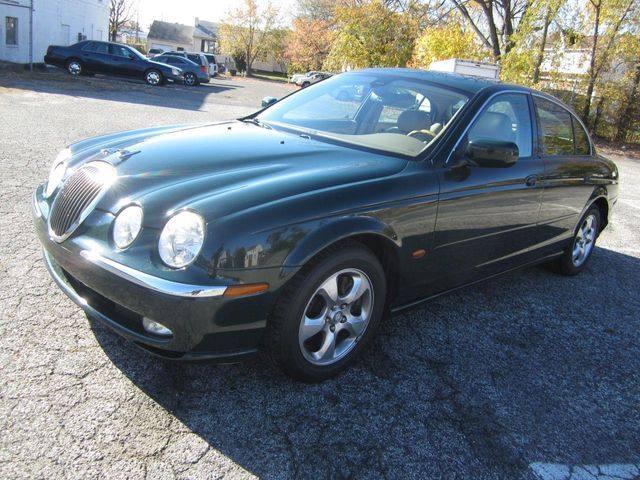 2000 used jaguar s-type 3.0l v6 / mnroof / alloys at contact us
