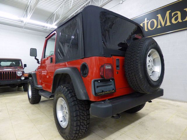 2000 Jeep Wrangler 2dr Sport - Click to see full-size photo viewer