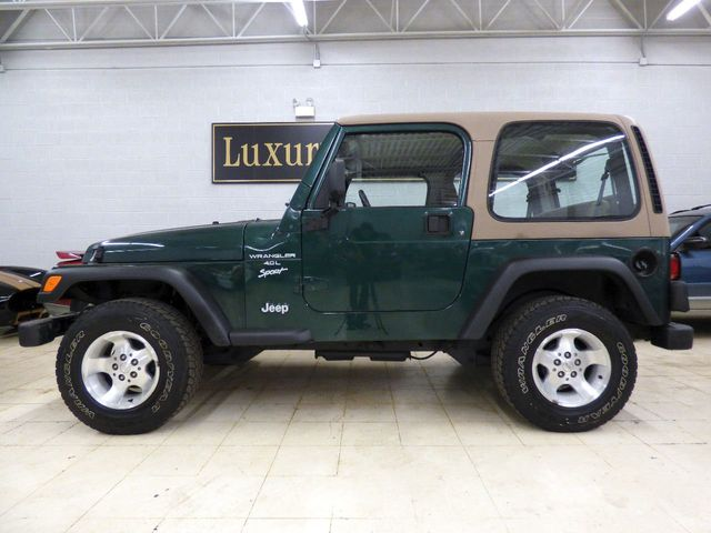 2000 Jeep Wrangler HARD TOP NEW SHOCKS BRAKES TIRES PA INSPECTION FULLY  SERVICED SUV   1J4FA49SXYP746990