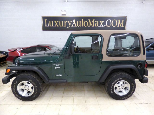 2000 Jeep Wrangler HARD TOP NEW SHOCKS BRAKES TIRES PA INSPECTION FULLY SERVICED - Click to see full-size photo viewer