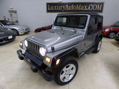 2000 Jeep Wrangler  ONE OWNER AUTOCHECK CERTIFIED NEW TOP SEAT COVER 2 SETS OF TIRE SUV