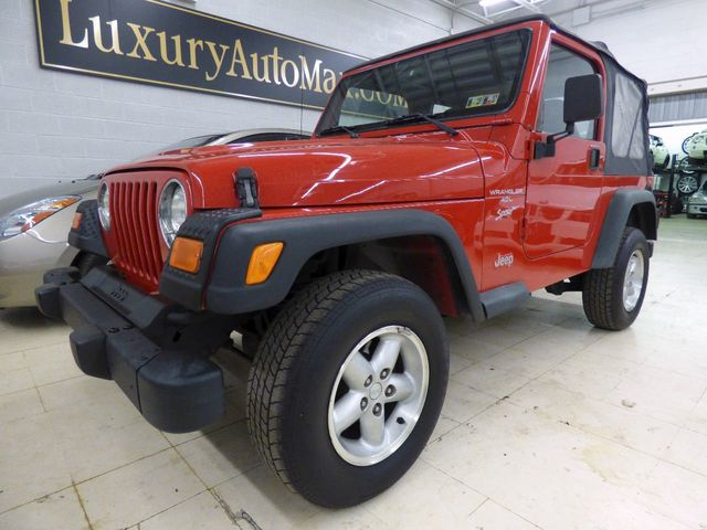 2000 Jeep Wrangler Sport - Click to see full-size photo viewer