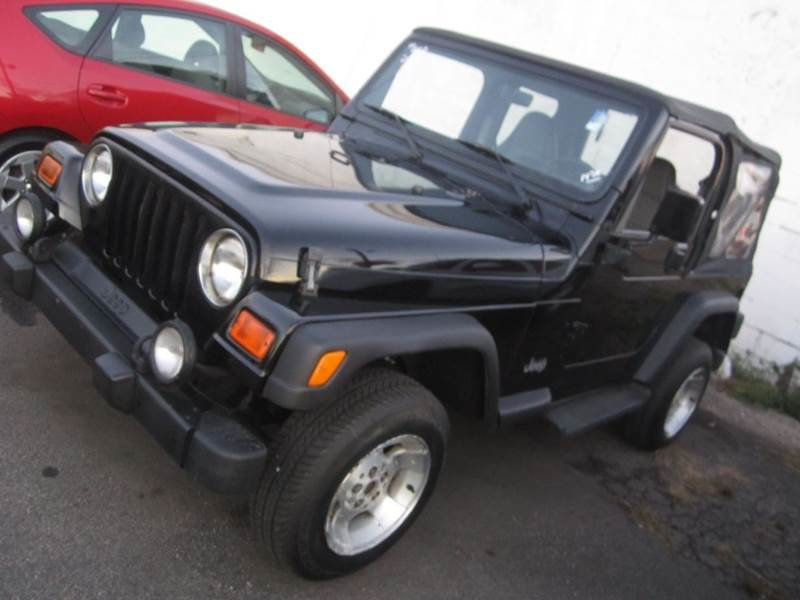Lovely 2000 Jeep Wrangler SPORT / AUTO / 4.0L   14439385   0