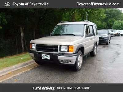 2000 Land Rover Discovery Series II 4dr Wagon w/Cloth SUV