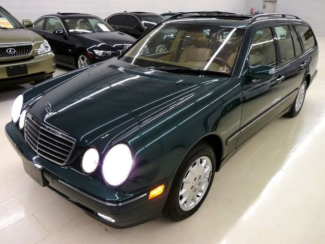 2000 Used Mercedes Benz E Class E320 4matic At Luxury