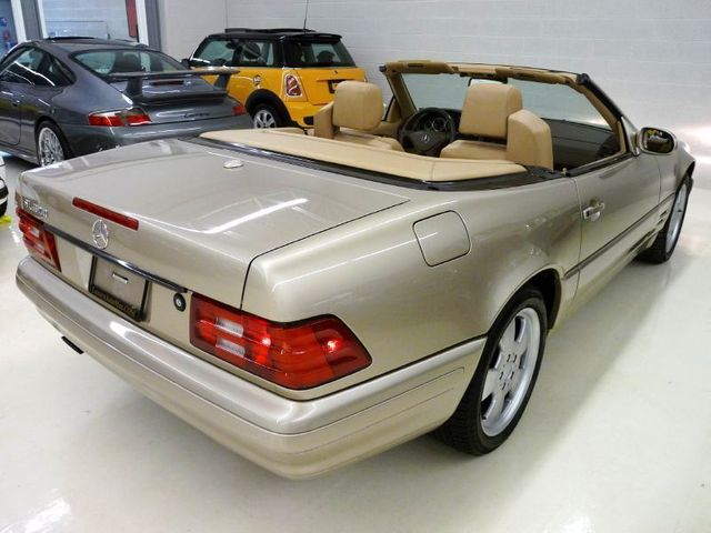2000 Used Mercedes-Benz SL-Class SL500 at Luxury AutoMax Serving