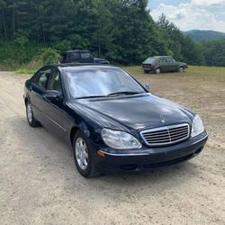 2000 Mercedes-Benz S-Class - WDBNG75J8YA066487