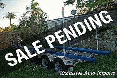2000 Rolls Axle Boat Trailer Tri-Axle Aluminum Trailer