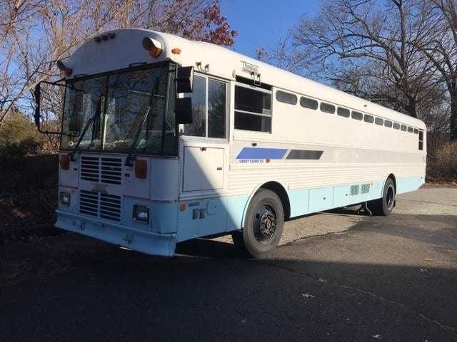 2000 Thomas Prison Bus Prison seating