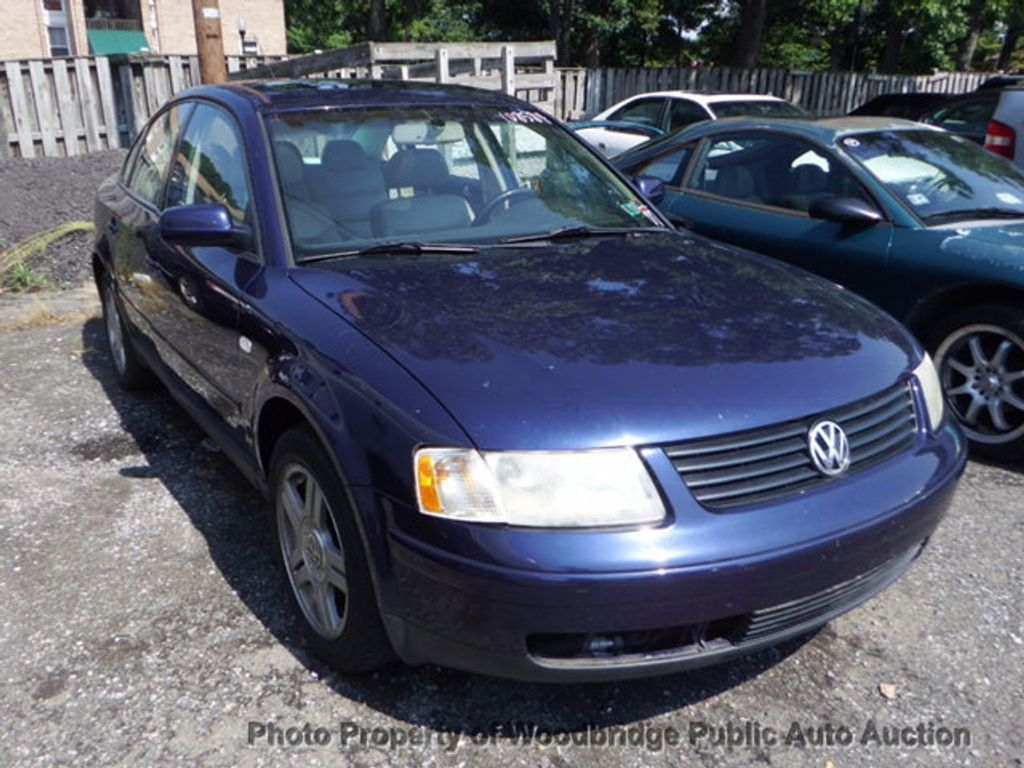 2000 used volkswagen passat 4dr sedan glx v6 automatic w 4motion at woodbridge public auto. Black Bedroom Furniture Sets. Home Design Ideas