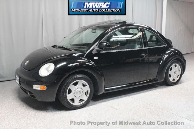 2000 volkswagen vw beetle gls tdi leather diesel 5 speed full service  history heated seats loaded