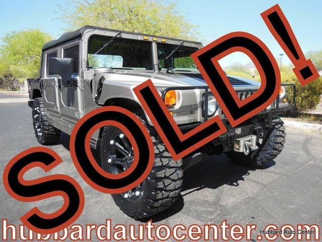 2001 AM General Hummer 4-Passenger Open Top Hard Doors