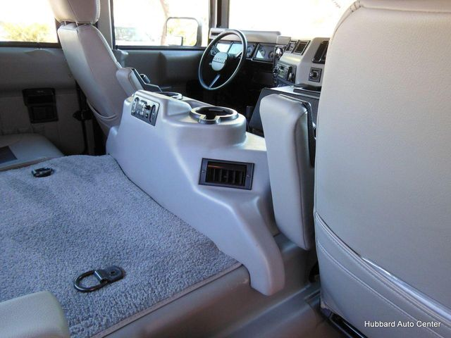 2001 AM General Hummer 4-Passenger Open Top Hard Doors - Click to see full-size photo viewer