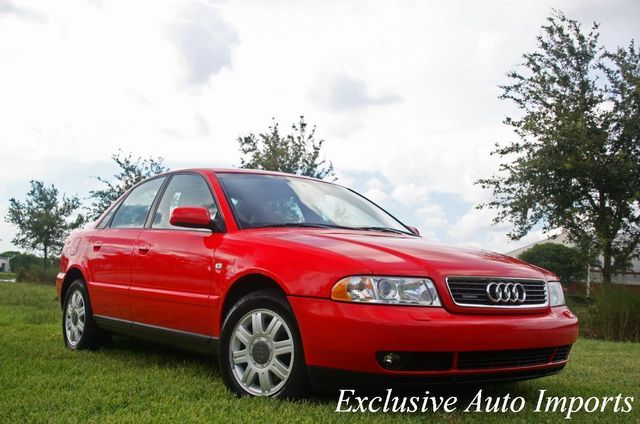 2001 Audi A4 2001 AUDI A4 1.8T SEDAN TURBO QUATTRO B5 AUTOMATIC RED ON BLACK - Click to see full-size photo viewer