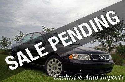 2001 Audi A4 2001 AUDI A4 1.8T TURBO SEDAN B5 5-SPEED