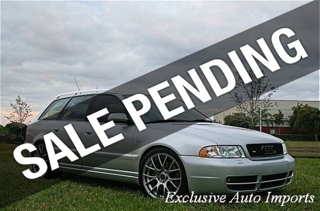 2001 Audi S4 5dr Wgn Avant Quattro AWD Man - Click to see full-size photo viewer