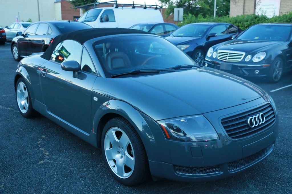 2001 Used Audi Tt Roadster At Finish Line Auto Serving Springfield