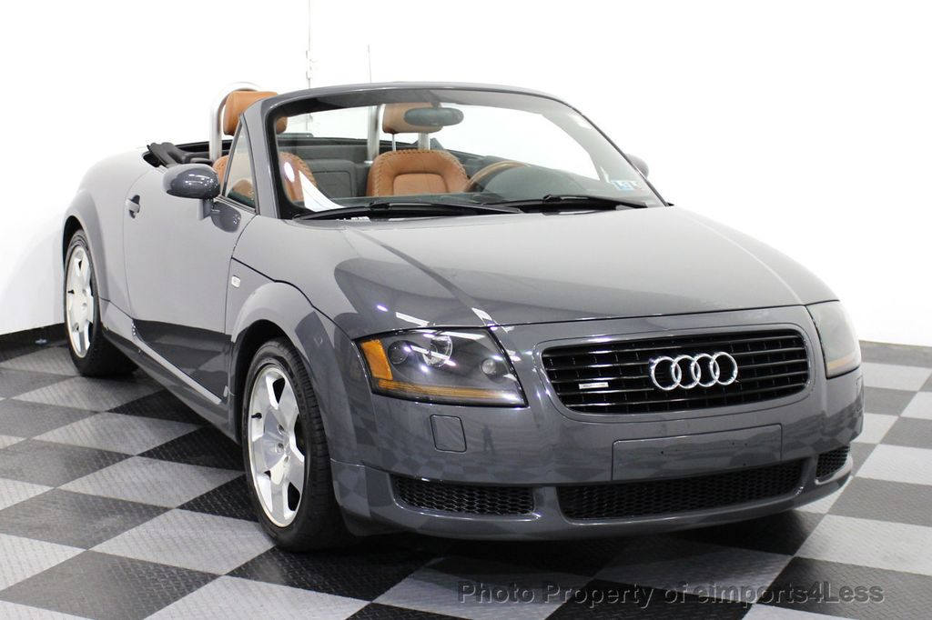 2001 used audi tt roadster tt 225hp quattro awd 6 speed convertible at eimports4less serving. Black Bedroom Furniture Sets. Home Design Ideas