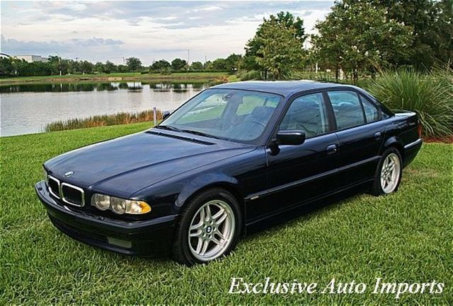 2001 BMW 7 Series 740iA 4dr Sdn - Click to see full-size photo viewer