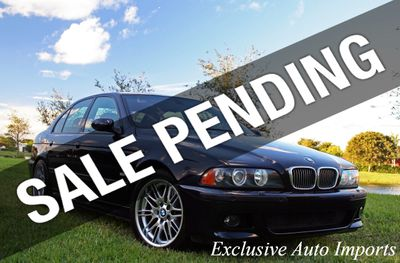 2001 BMW M5 E39 SEDAN 6-SPEED MANUAL 400HP IMMACULATE RECENT SERVICE! RARE!