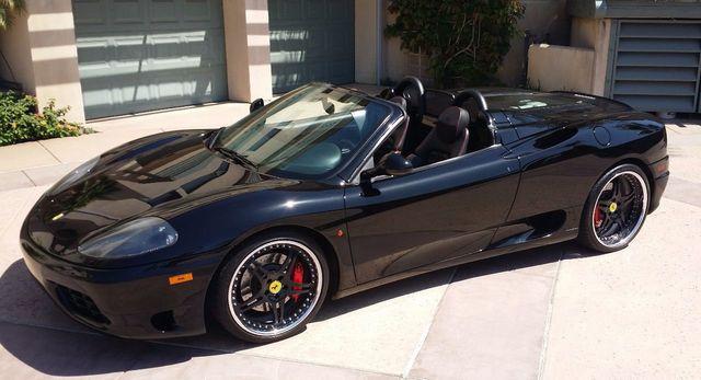 Black Ferrari Spider