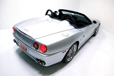 2001 Ferrari 550 Barchetta 3,891 MILES, RACE SEAT OPTION, MUSEUM QUALITY - Click to see full-size photo viewer