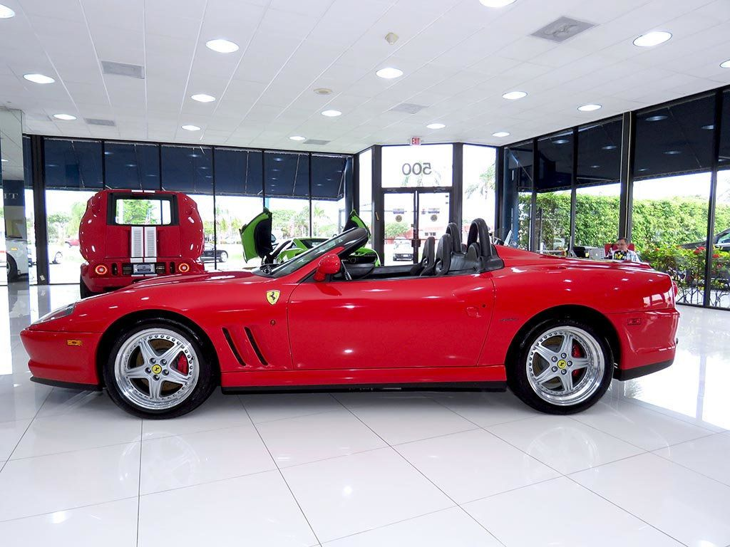 2001 Used Ferrari 550 Barchetta 550 Barchetta At Fort Lauderdale