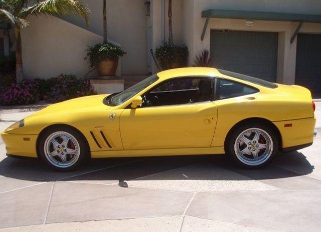 2001 Used Ferrari 550 Maranello Base Trim at Sports Car Company, Inc.  Serving La Jolla, CA, IID 1495719