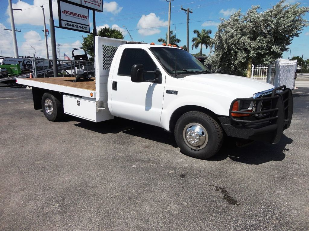 2001 Ford F350 7.3L DIESEL . 12FT FLATBED - 18965867 - 1