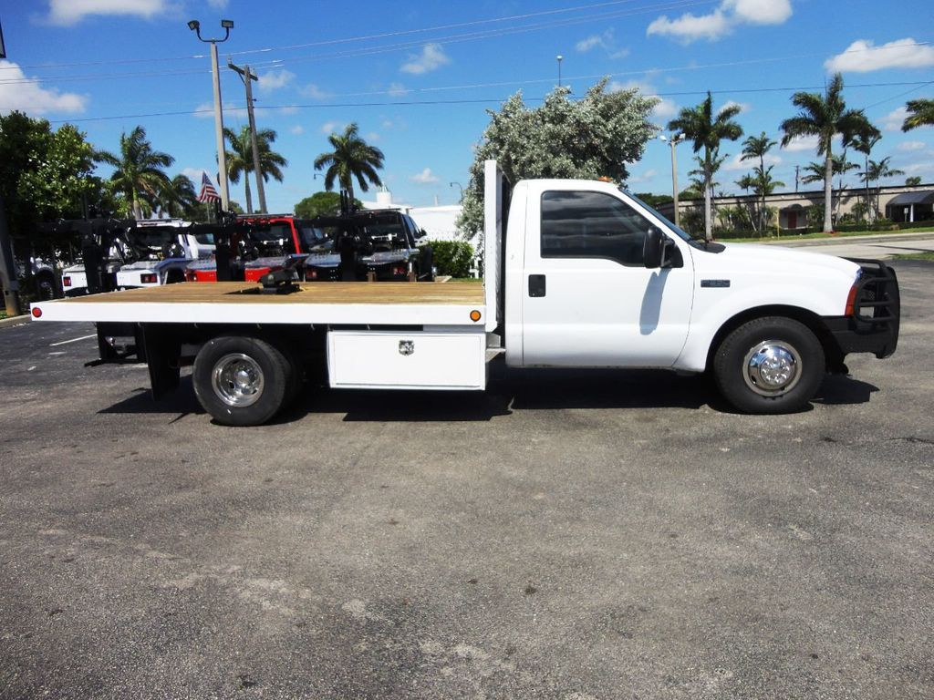 2001 Ford F350 7.3L DIESEL . 12FT FLATBED - 18965867 - 2