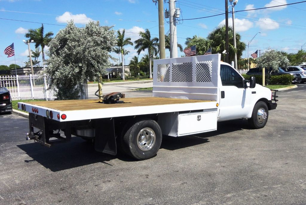 2001 Ford F350 7.3L DIESEL . 12FT FLATBED - 18965867 - 3
